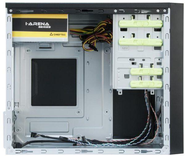 Корпус Chieftec Mesh CT-01B-450S8, 450W, 1xUSB3.0, Black - купить в интернет-магазине Анклав