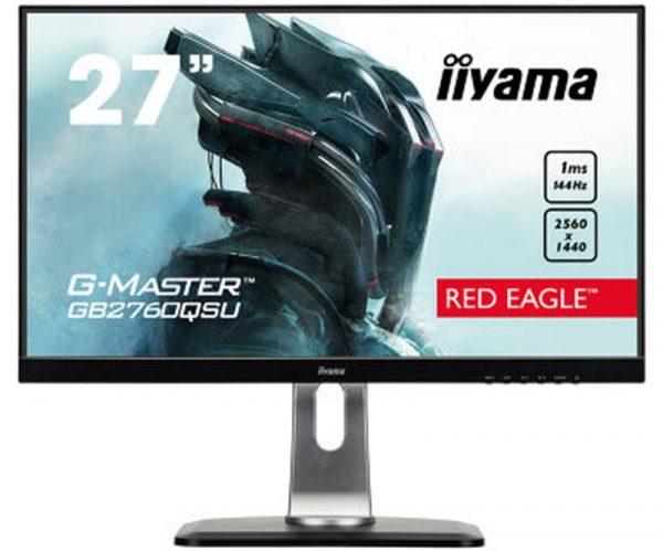 "Монітор Iiyama 27"" GB2760QSU-B1 Black - купить в интернет-магазине Анклав"
