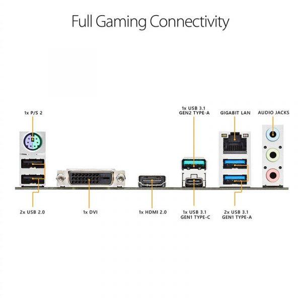 Материнська плата Asus TUF B450M-Plus Gaming Socket AM4 - купить в интернет-магазине Анклав