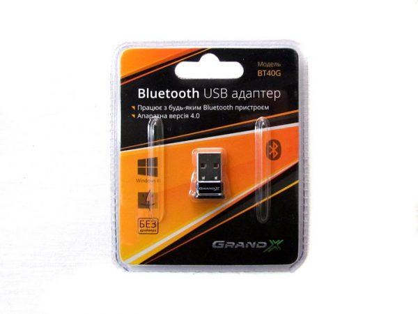 Адаптер Bluetooth Grand-X V4.0/4.1Master&Slave Low Energy LTE aptX (BT40G) - купить в интернет-магазине Анклав