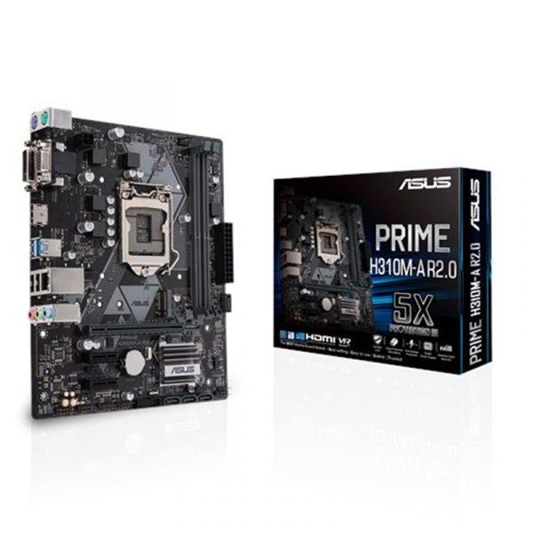 Asus Prime H310M-A R2.0 Socket 1151 - купить в интернет-магазине Анклав