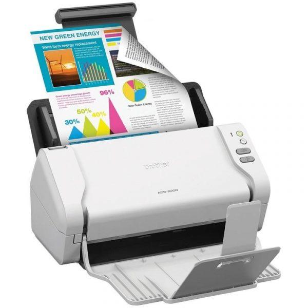 Документ-сканер А4 Brother ADS2200 (ADS2200TC1) - купить в интернет-магазине Анклав