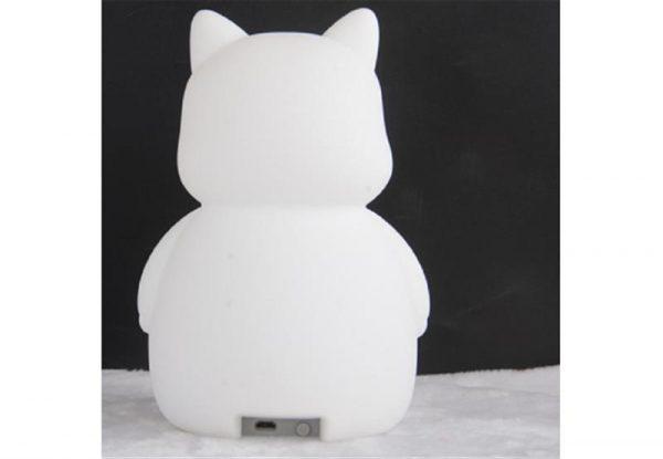 Настольная лампа Colorful Silicone Cat (349576) - купить в интернет-магазине Анклав