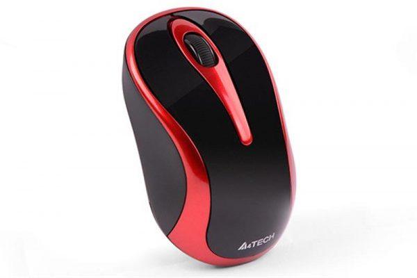 Мишка бездротова A4Tech G3-280N Black/Red USB V-Track - купить в интернет-магазине Анклав