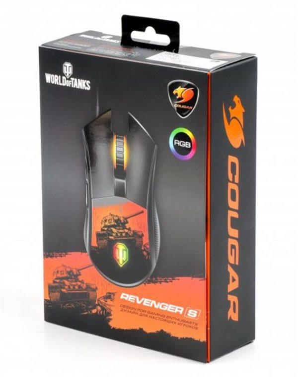 Мишка Cougar Revenger S World of Tanks USB - купить в интернет-магазине Анклав