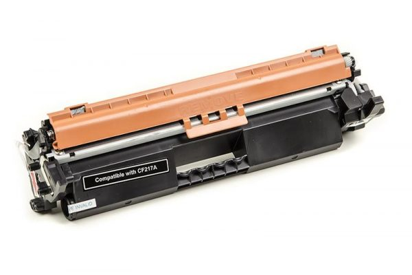 Картридж PowerPlant (PP-CF217A) HP LJ Pro M102/M103 Black (аналог CF217A) с чипом - купить в интернет-магазине Анклав
