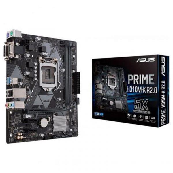 Материнська плата Asus Prime H310M-K R2.0 Socket 1151 - купить в интернет-магазине Анклав