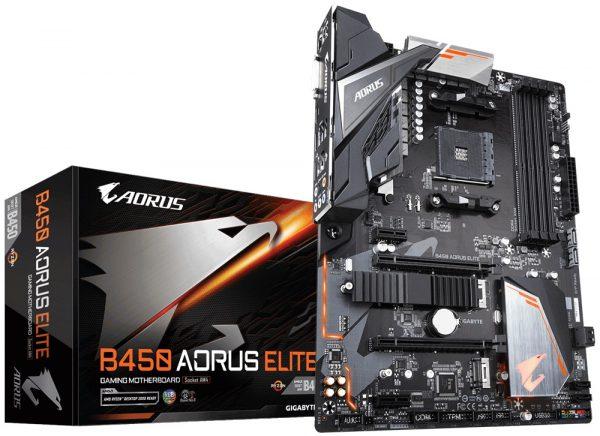 Gigabyte B450 Aorus Elite Socket AM4 - купить в интернет-магазине Анклав
