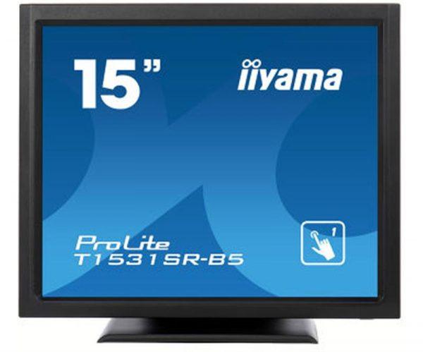 "Монітор Iiyama 15"" T1531SR-B5 Black Resistive Touchscreen - купить в интернет-магазине Анклав"