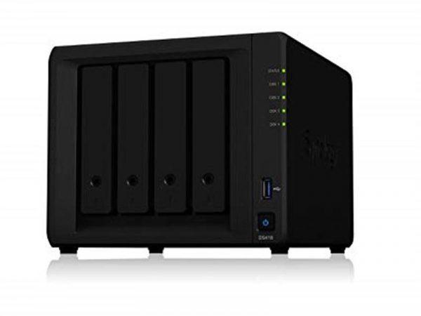 """Мережеве сховище NAS Synology DS418 4x3.5"""" SATA, 2x1GE, 2xUSB3.0 - купить в интернет-магазине Анклав"""