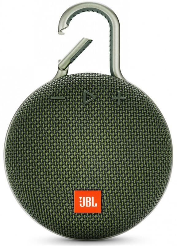Акустическая система JBL Clip 3 Green (JBLCLIP3GRN) - купить в интернет-магазине Анклав