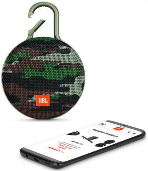 Акустическая система JBL Clip 3 Squad (JBLCLIP3SQUAD) - купить в интернет-магазине Анклав