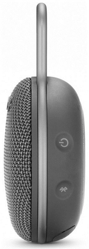 Акустическая система JBL Clip 3 Stone Gray (JBLCLIP3GRY) - купить в интернет-магазине Анклав