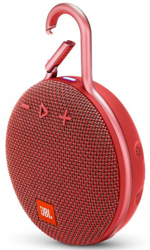 Акустическая система JBL Clip 3 Fiesta Red (JBLCLIP3RED) - купить в интернет-магазине Анклав