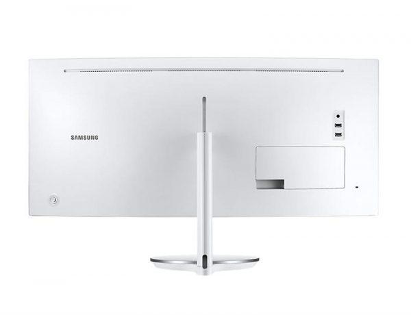 "Монітор Samsung 34"" C34J791 (LC34J791WTIXCI) VA Silver/White Curved - купить в интернет-магазине Анклав"