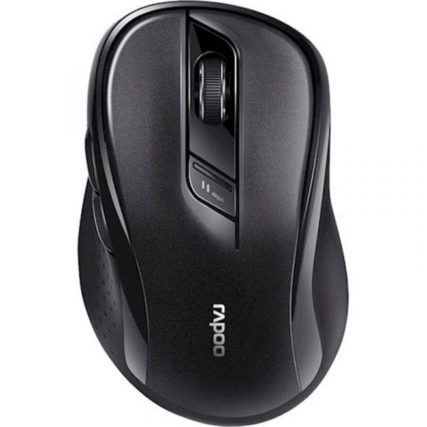 Мишка бездротова Rapoo M500 Silent Wireless Multi-Mode Grey - купить в интернет-магазине Анклав