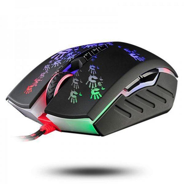 Мишка A4Tech A60A Bloody Black USB - купить в интернет-магазине Анклав