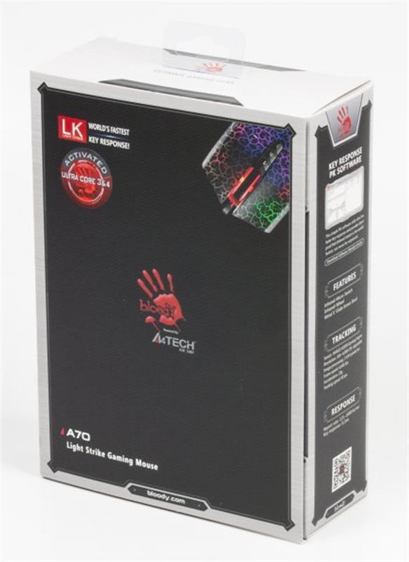 Мишка A4Tech A70A Bloody Crackle Black USB - купить в интернет-магазине Анклав