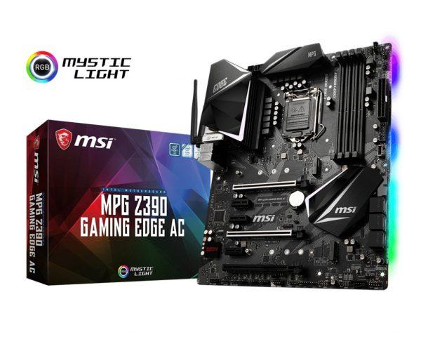 MSI MPG Z390 Gaming Edge AC Socket 1151 - купить в интернет-магазине Анклав