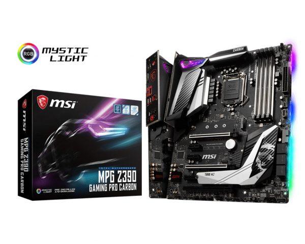 MSI MPG Z390 Gaming Pro Carbon Socket 1151 - купить в интернет-магазине Анклав