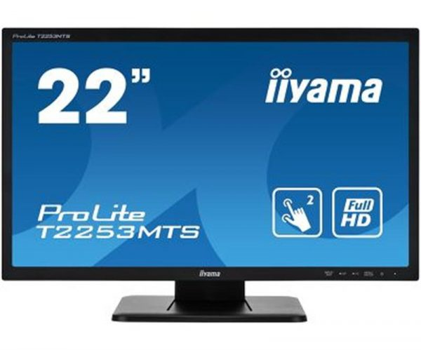 "Монітор Iiyama 21.5"" T2253MTS-B1 Black Touch Screen - купить в интернет-магазине Анклав"