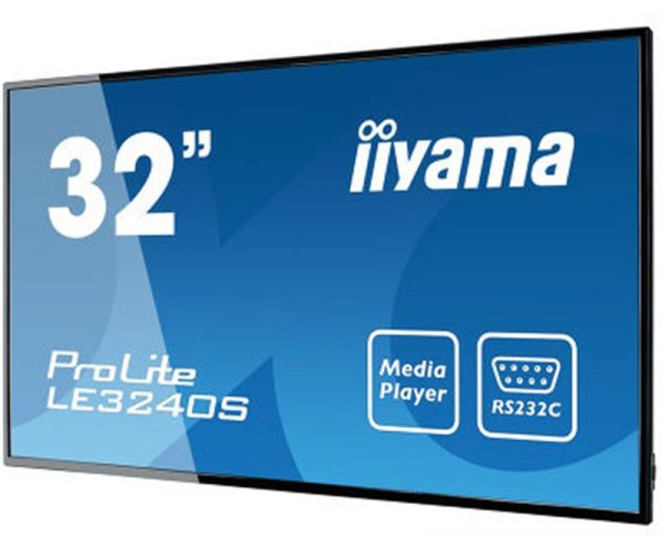 "Iiyama 31.5"" LE3240S-B1 IPS Black - купить в интернет-магазине Анклав"