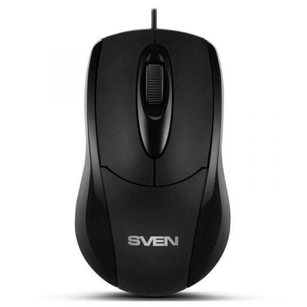Мышь Sven RX-110 черная USB UAH - купить в интернет-магазине Анклав