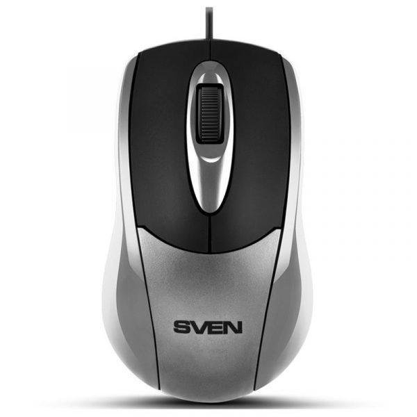 Мишка Sven RX-110 Silver USB - купить в интернет-магазине Анклав