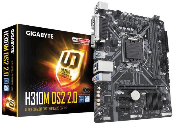Gigabyte H310M DS2 2.0 Socket 1151 - купить в интернет-магазине Анклав