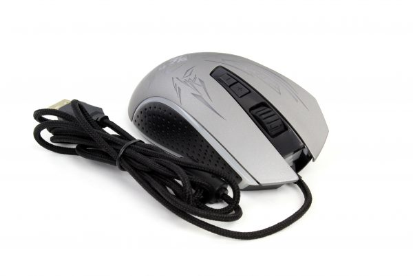 Игровая мышь Frime Drax Silver, USB (FMC1851) - купить в интернет-магазине Анклав