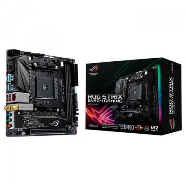 Asus ROG Strix B450-I Gaming Socket AM4 - купить в интернет-магазине Анклав