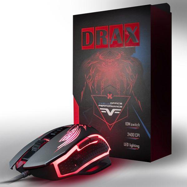 Игровая мышь Frime Drax Black, USB (FMC1850) - купить в интернет-магазине Анклав