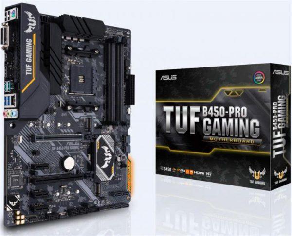 Материнська плата Asus TUF B450-Pro Gaming Socket AM4 - купить в интернет-магазине Анклав