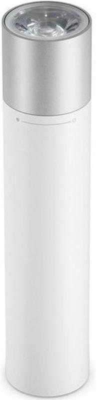 Фонарик-зарядное устройство Xiaomi Mi Portable Flashlight + Power Bank 3350mAh White (375142) - купить в интернет-магазине Анклав