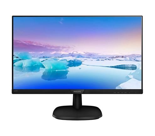 """Philips 21.5"""" 223V7QSB/01 IPS Black - купить в интернет-магазине Анклав"""