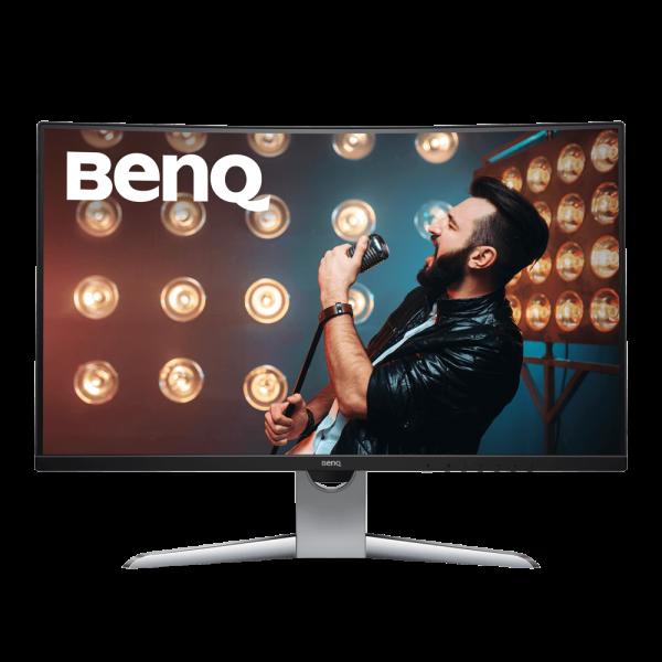 """BenQ 31.5"""" EX3203R (9H.LGWLA.TSE) VA Metallic Grey Curved 144Hz - купить в интернет-магазине Анклав"""