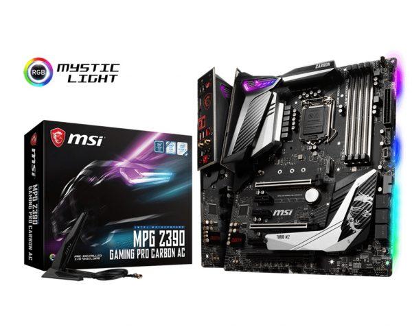MSI MPG Z390 Gaming Pro Carbon AC Socket 1151 - купить в интернет-магазине Анклав