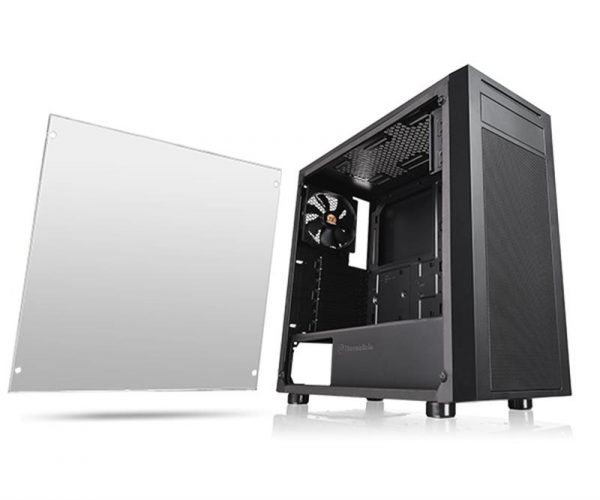Корпус Thermaltake Versa J22 Tempered Glass Edition Black (CA-1L5-00M1WN-00) - купить в интернет-магазине Анклав