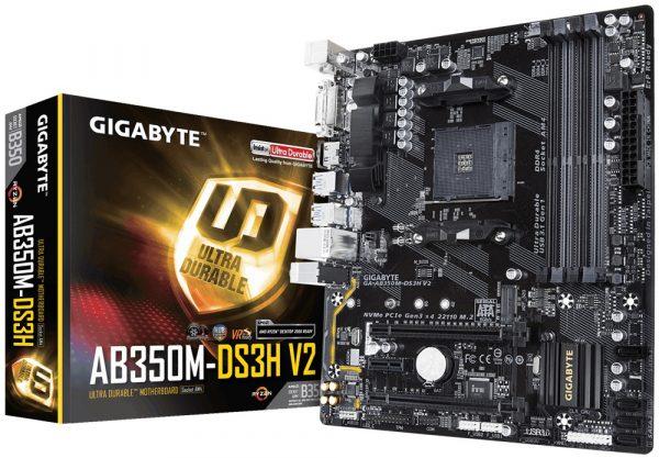 Gigabyte GA-AB350M-DS3H V2 Socket AM4 - купить в интернет-магазине Анклав