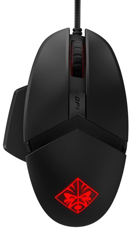 Мишка HP Omen Reactor (2VP02AA) Black USB - купить в интернет-магазине Анклав