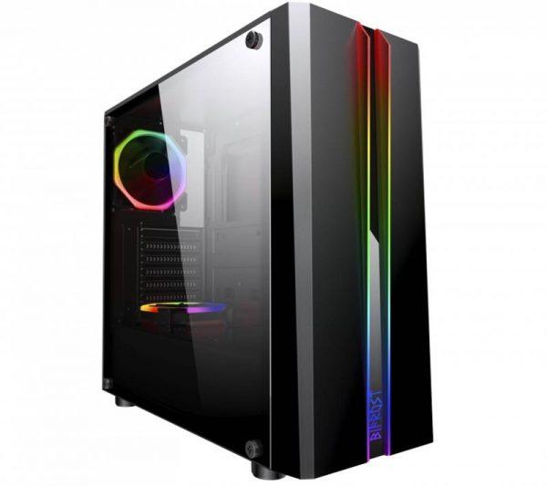 Корпус Frime Bifrost USB 3.0 без БП (Bifrost-U3-GLS-RGBRF-WP) - купить в интернет-магазине Анклав