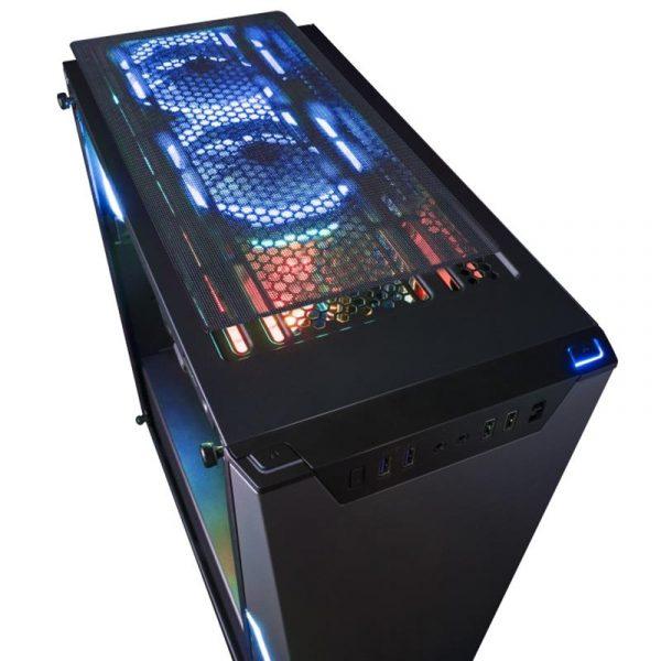 Корпус Frime MarkIII 2*USB3.0 без БП (MarkIII-U3-GLS-3RGBF-WP) - купить в интернет-магазине Анклав