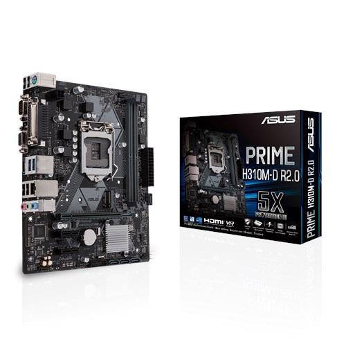 Материнська плата Asus  Prime H310M-D R2.0 Socket 1151 - купить в интернет-магазине Анклав