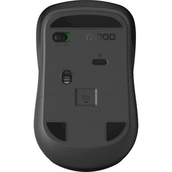 Мышь беспроводная Rapoo 6610M Silent Grey USB - купить в интернет-магазине Анклав
