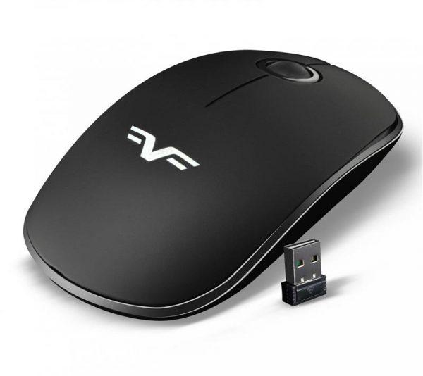 Мышь беспроводная Frime FWMO-240В Silent Черный - купить в интернет-магазине Анклав