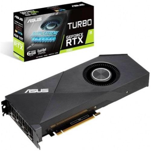 GF RTX 2060 6GB GDDR6 Turbo Asus (TURBO-RTX2060-6G) - купить в интернет-магазине Анклав