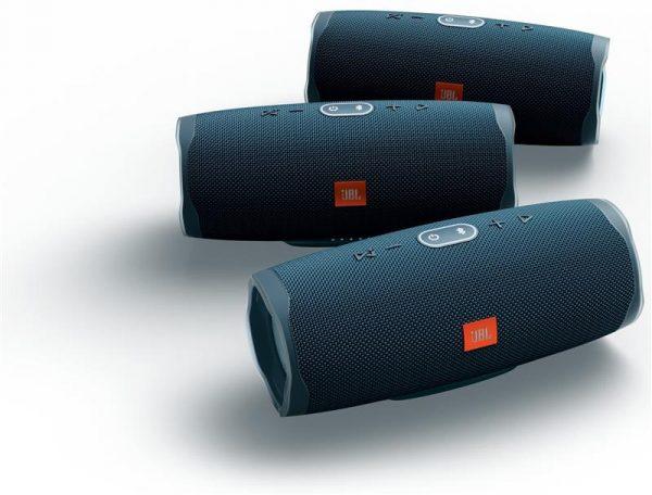 Акустическая система JBL Charge 4 Blue (JBLCHARGE4BLU) - купить в интернет-магазине Анклав