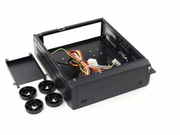 Корпус ProLogix I01/i500 Black 60W ITX - купить в интернет-магазине Анклав