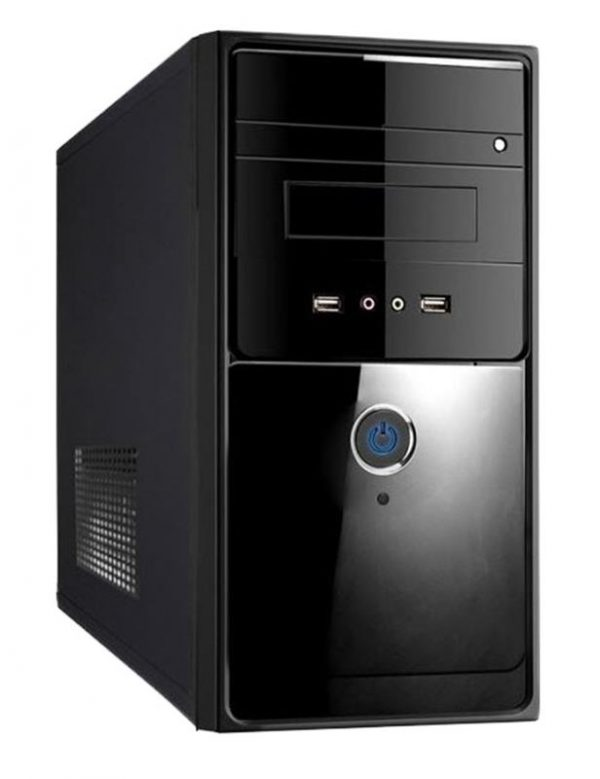 Корпус Delux MK260 Black 400W 8Fan - купить в интернет-магазине Анклав
