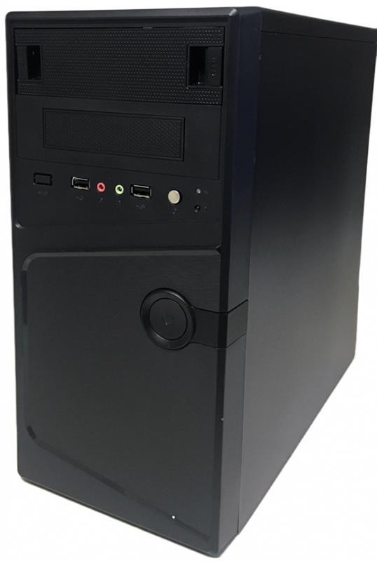 Корпус Delux MK231 Black 450W 12Fan - купить в интернет-магазине Анклав